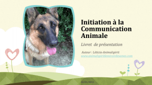 CommunicationAnimale