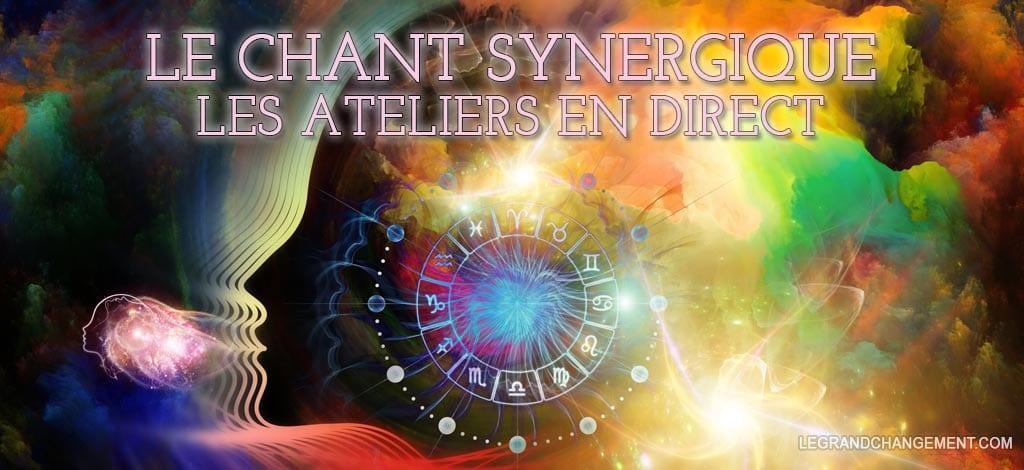 Chant Synergique - Les ateliers en direct - Lucie Gaillard
