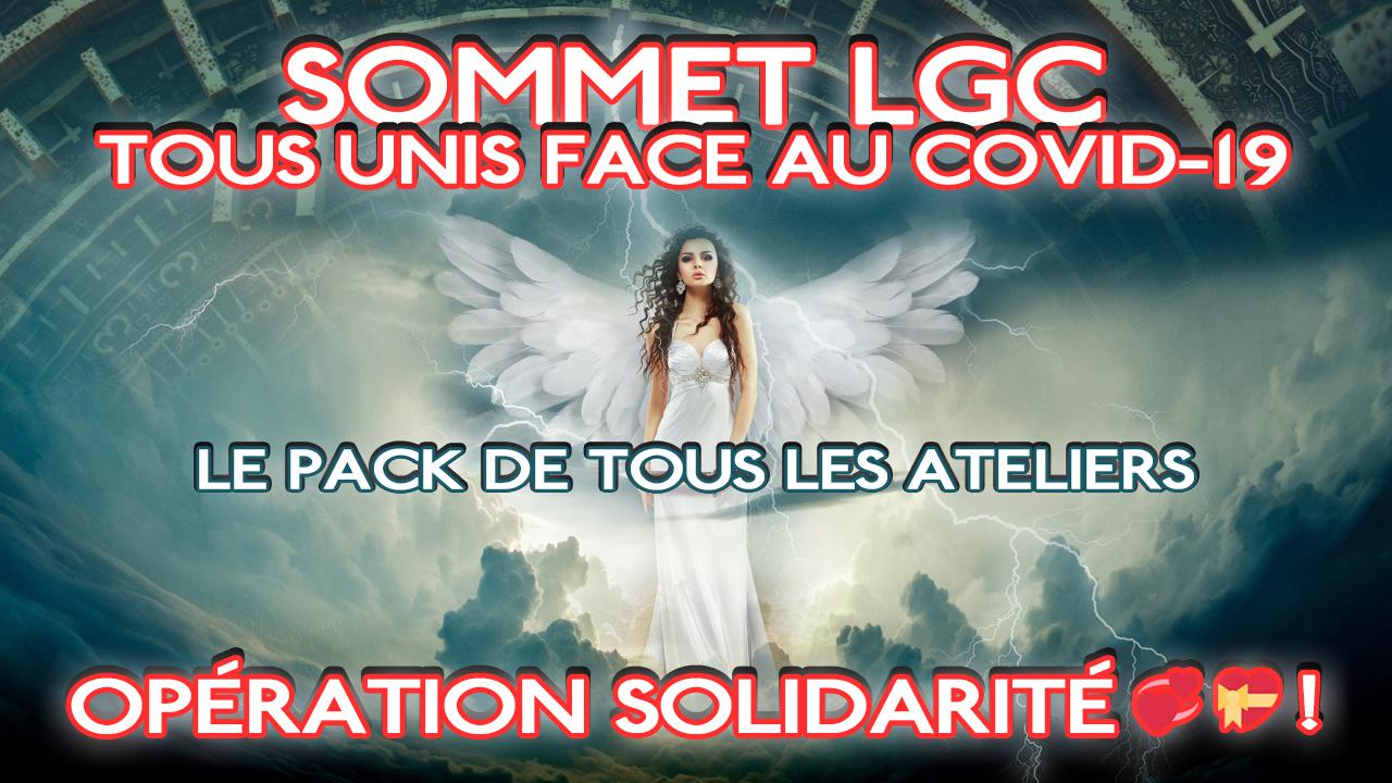 Sommet LGC - Tous ensemble unis face au Covid-19